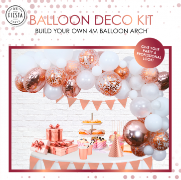 PRE-ORDER Balloon deco kit - rose gold