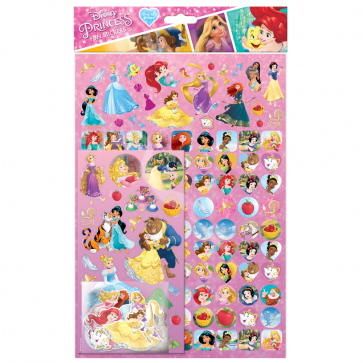 Mega pack Stickers - Disney Princess