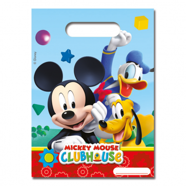 6 Party Bags - Playful Mickey
