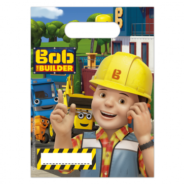 6 Party Bags  -  Bob The Builder