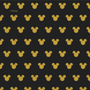 20 Two-Ply Paper Napkins 33x33cm - Mickey Gold