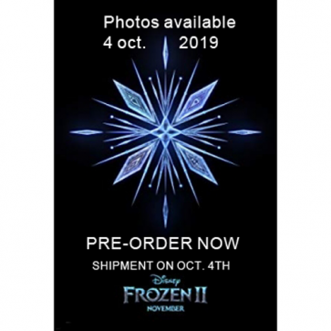 6 Triangle Flag Banner (9 Flags) Frozen 2