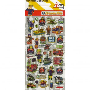Large Foil Stickers - Fireman Sam