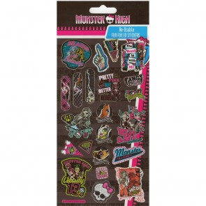 Large Foil Stickers - Monster High