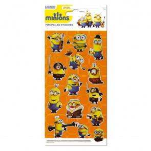 Large Foil Stickers - Minions
