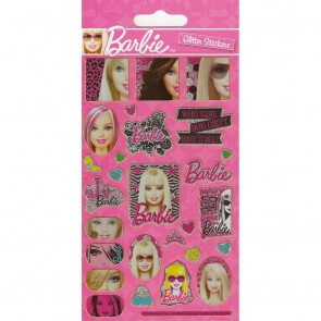 Small Foil Stickers - Barbie