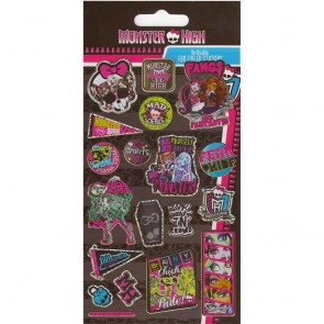 Small Foil Stickers - Monster High