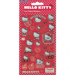 Small Foil Stickers - Hello Kitty Spots