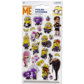 Small Foil Stickers - Despicable Me 1
