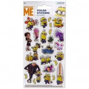 Small Foil Stickers - Despicable Me 2