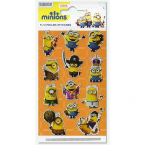 Small Foil Stickers - Minions 1