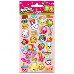 Small Foil Stickers - Shopkins