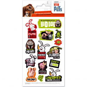 Small Foil Stickers - Secret life of pets - Urban