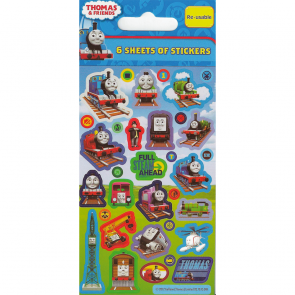 Party Stickers - 6 sheets - Thomas & Friends