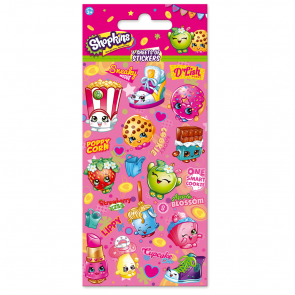 Party Stickers - 6 sheets - Shopkins