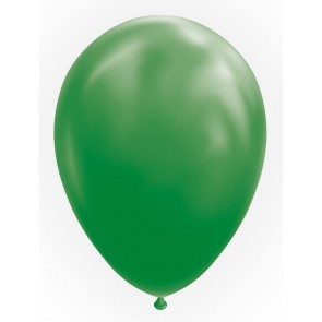 "100 Balloons 12"" dark green"