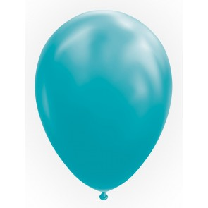 "10 Balloons 12"" turquoise"
