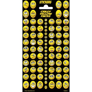 Twinkle Sheet Crazy Yellow Faces