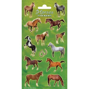 Paper Sheet Stickers Horses 1
