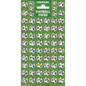 Twinkle Sheet Football Faces