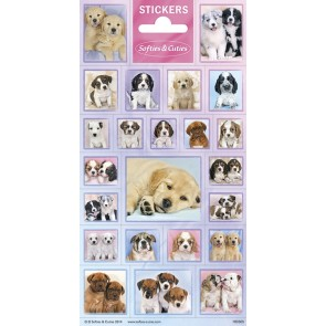 Paper Sheet Stickers Softies & Cuties Dogs