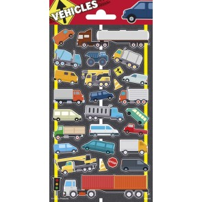 Paper Sheet Stickers Vehicles