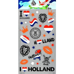 Paper Sheet Stickers Holland