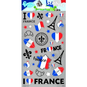Paper Sheet Stickers France