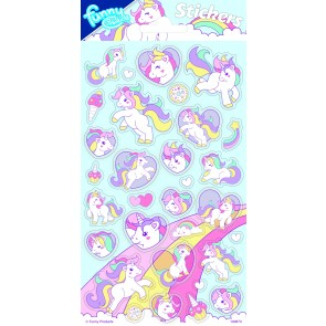 Paper Sheet Stickers Unicorn