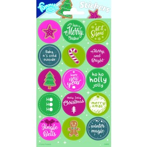 Paper Sheet Stickers Christmas 2