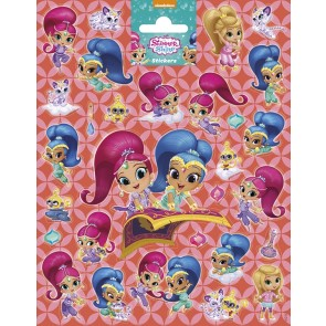 Paper Sheet Stickers Large Shimmer & Shine