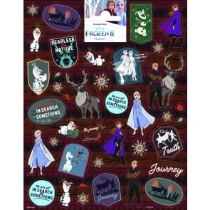 Paper Sheet Stickers Large Frozen 2