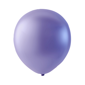 25 balloons, 12'' - violet