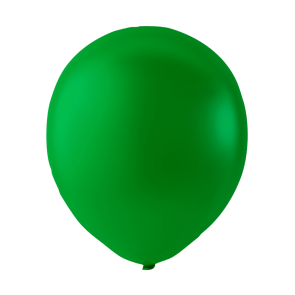 25 balloons, 12'' - dark green