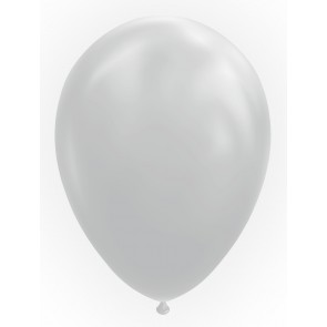 "100 Balloons 12"" cool grey"