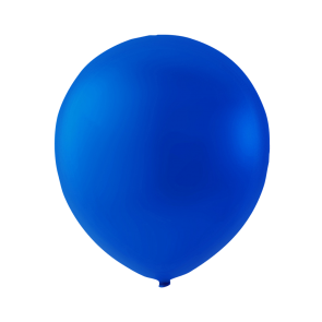 100 balloons, 12'' - royal blue