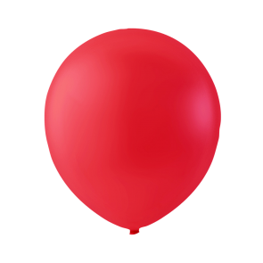 100 balloons, 12'' - brite red (crystal)