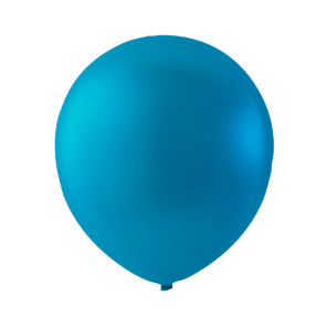 100 balloons, 12'' - sea green