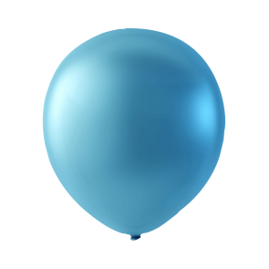 100 balloons pearl, 12'' - blue