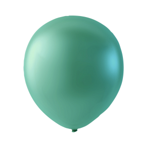 100 balloons pearl, 12'' - green