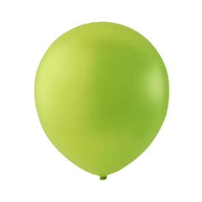 100 balloons, 12'' - apple green