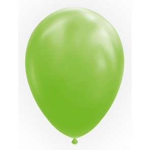 "100 Balloons 12"" lime green"