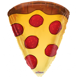 "Foilballoon shape , 18"" - pizza slice"