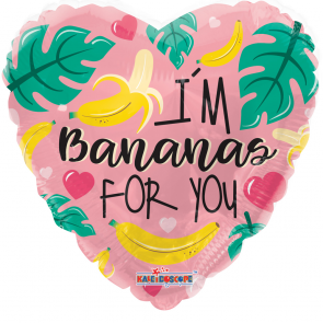 "Foilballoon shape , 18"" - pr bannanas for you"