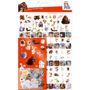 Mega pack Stickers - Secret life of pets