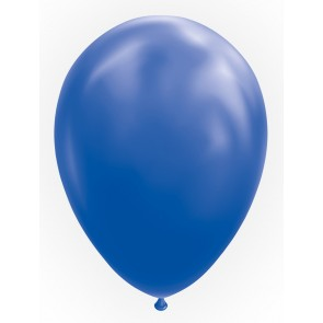 "100 Balloons 12"" dark blue"