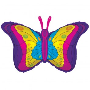 "Foilballoon XL  ,  36""  - butterfly"