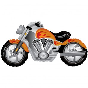 "Foilballoon XL  ,  36""  -  motorcycle"