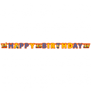 1 Happy Birthday Die-Cut Banner - Minions