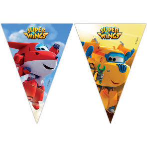 Triangle Flag Banner - Super Wings